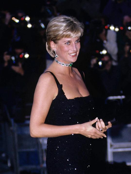 Princezna Diana v den svých posledních narozenin zavítala na charitativní akci v Tate Gallery.