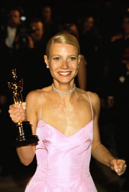 Gwyneth jako čerstvá držitelka Oscara