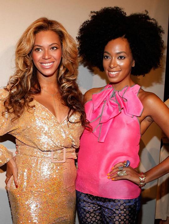 Beyoncé se sestrou Solange