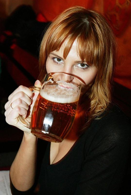 Pivo dělá hezká těla.
