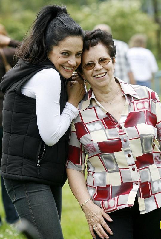 Lucie Bílá na svou maminku nedá dopustit.