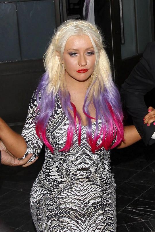 Christina Aguilera nebyla vždy v nejlepší formě.