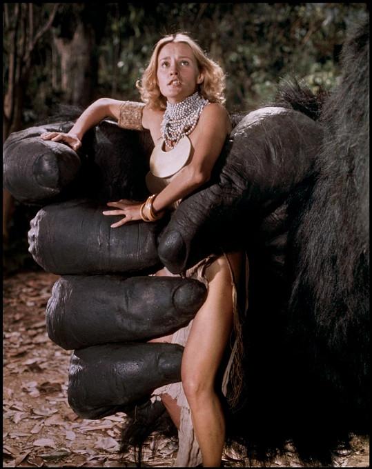 Jessica Lange ve filmu King Kong (1976)
