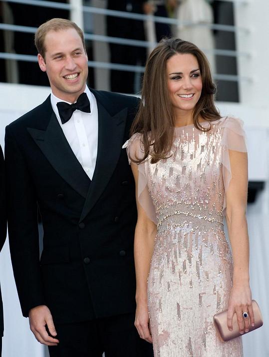 Kate a William pár měsíců po svatbě