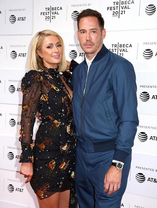 Paris Hilton se snoubencem Carterem