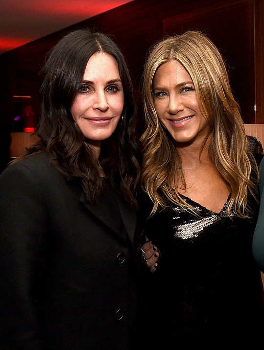 Jennifer Aniston & Courteney Cox