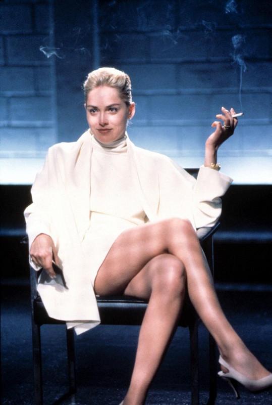 Před 21 lety: Sharon Stone v Základním instinktu.