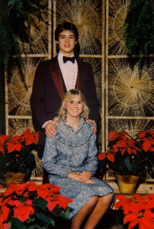 Mladá láska - Brad a Tonya na archivním snímku.