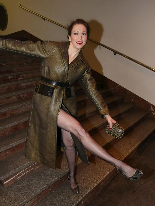 Zuzana Stivínová zářila v outfitu Bottega Veneta.