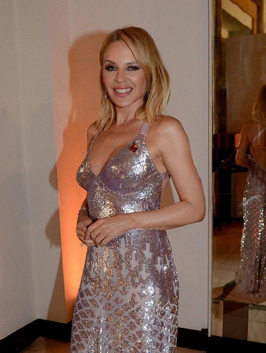 Kylie si odnesla cenu za hudební ikonu.