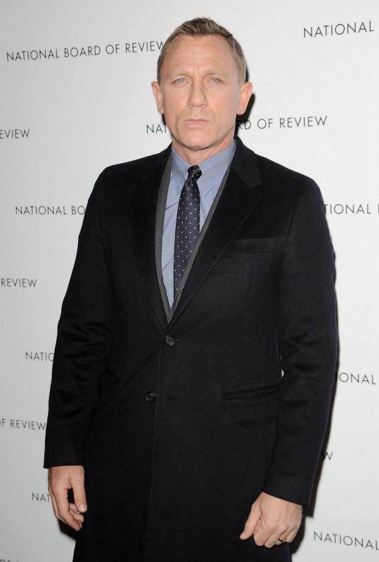 Daniel Craig si jako agent James Bond nominaci na cenu BAFTA neodnesl.