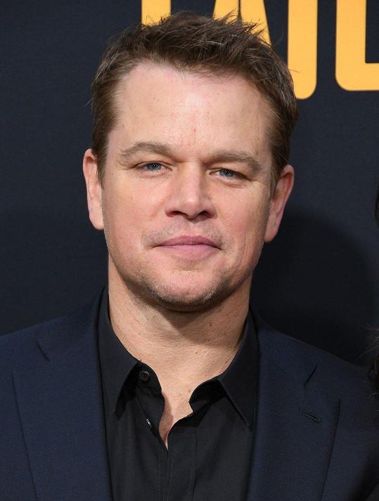 Večeře s Mattem Damonem byla pro herečku zásadní.