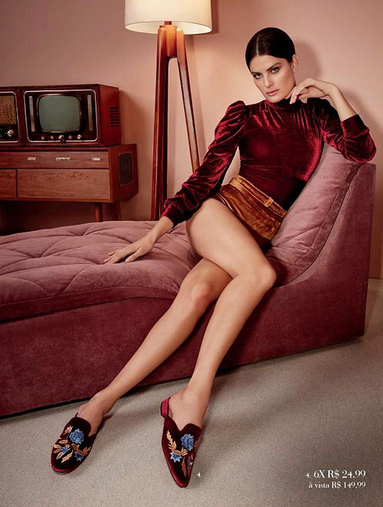 Isabeli Fontana se stala tváří značky bot.