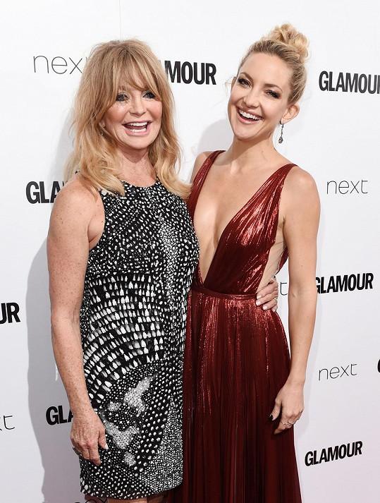 Goldie a Kate na udílení cen magazínu Glamour