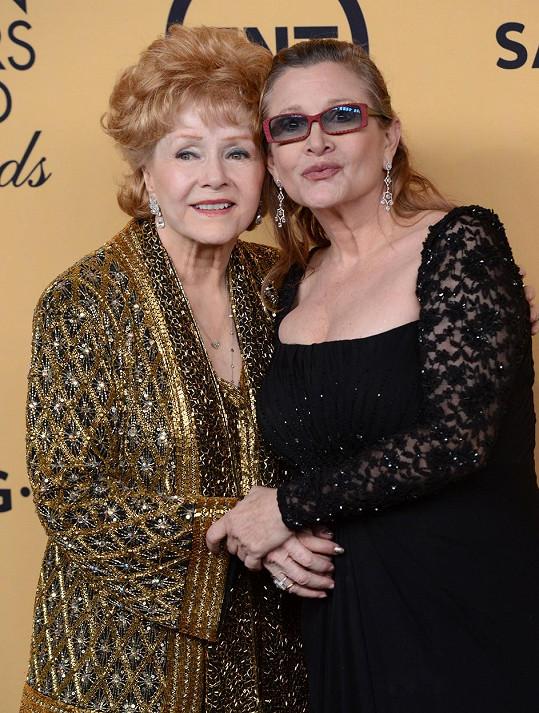 Carrie doprovodila maminku Debbiey Reynolds na udílení SAG Awards.
