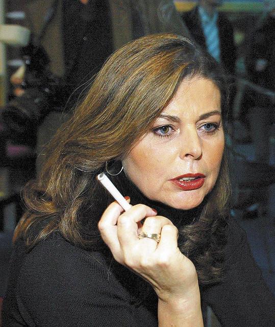 Andrea Čunderlíková v roce 2003