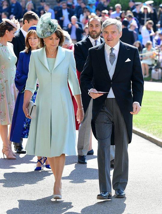 Carole s manželem Michaelem spravuje rodinnou firmu Party Pieces.