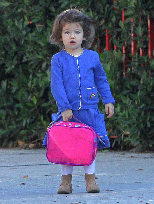 Dvouletá Wyatt Isabelle Kutcher