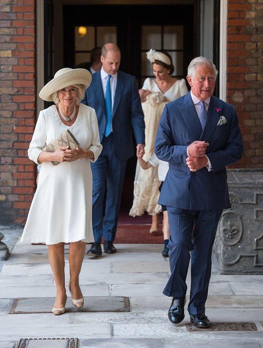 Princ Charles s manželkou Camillou, vévodkyní z Cornwallu