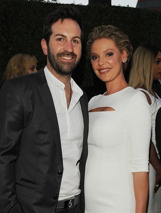 S manželem Joshem Kelleym