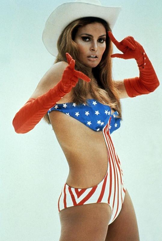 Raquel Welch jako sexsymbol 60. let