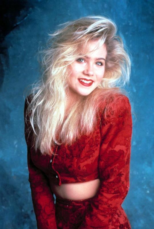 Christina v roli Kelly Bundové alias Melounka.