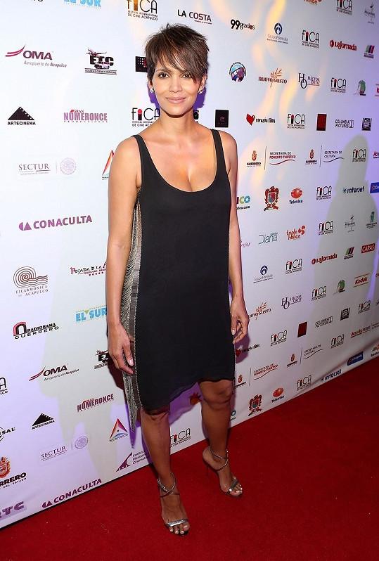 Halle Berry na filmovém festivalu v Acapulcu