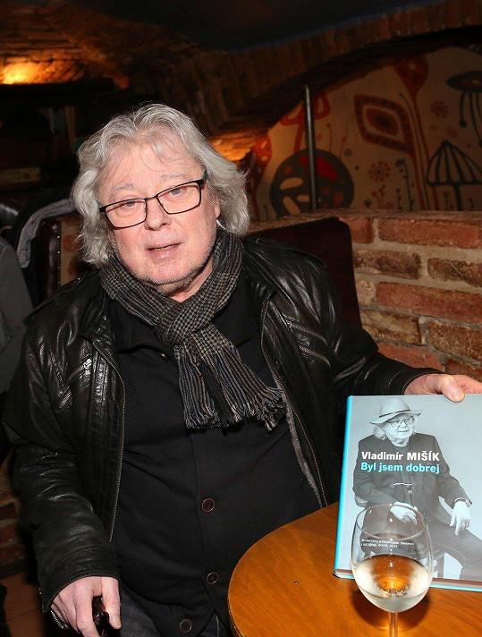 Vladimír Mišík křtil svou knihu rozhovorů.