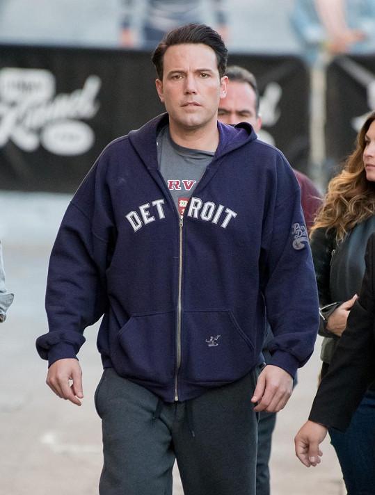 Ben míří na natáčení pořadu Jimmyho Kimmela.
