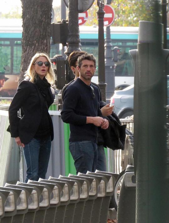 Patrick a Jillian si udělali romantický výlet do Paříže.