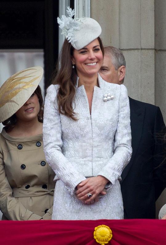 Kate v kostýmku Alexandera McQueena