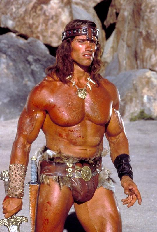 Arnie jako Barbar Conan (1982)