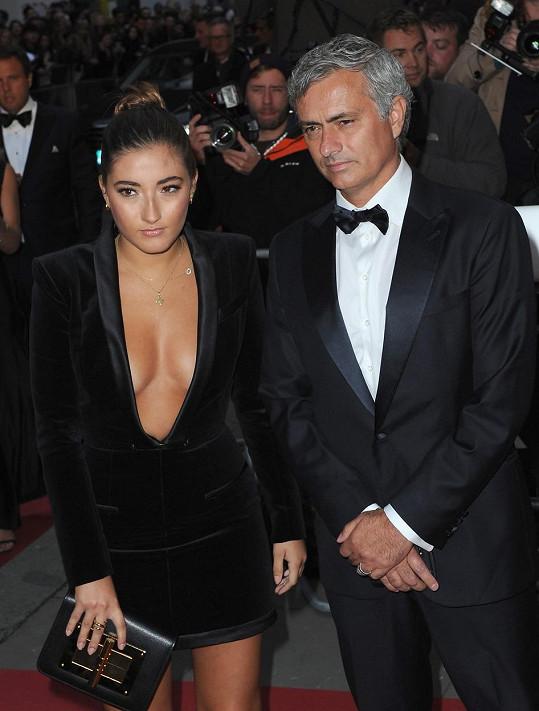 José Mourinho s dcerou Mathildou na udílení GQ Men Of The Year Awards