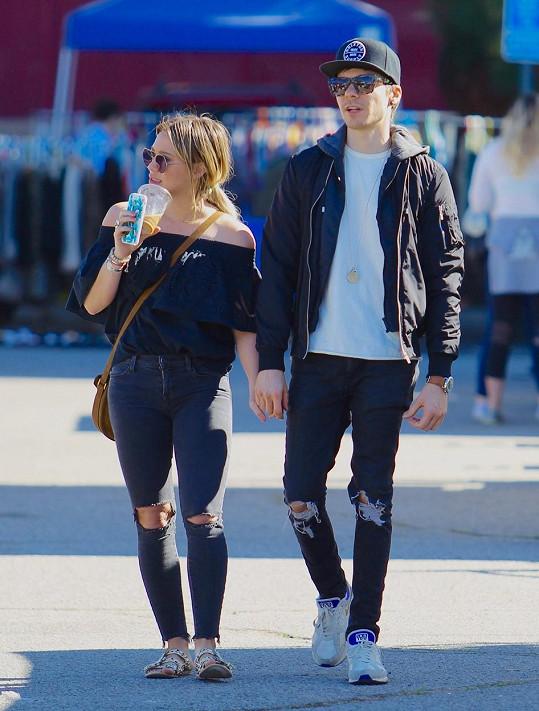 Hilary Duff a její nejnovější úlovek Matthew Koma