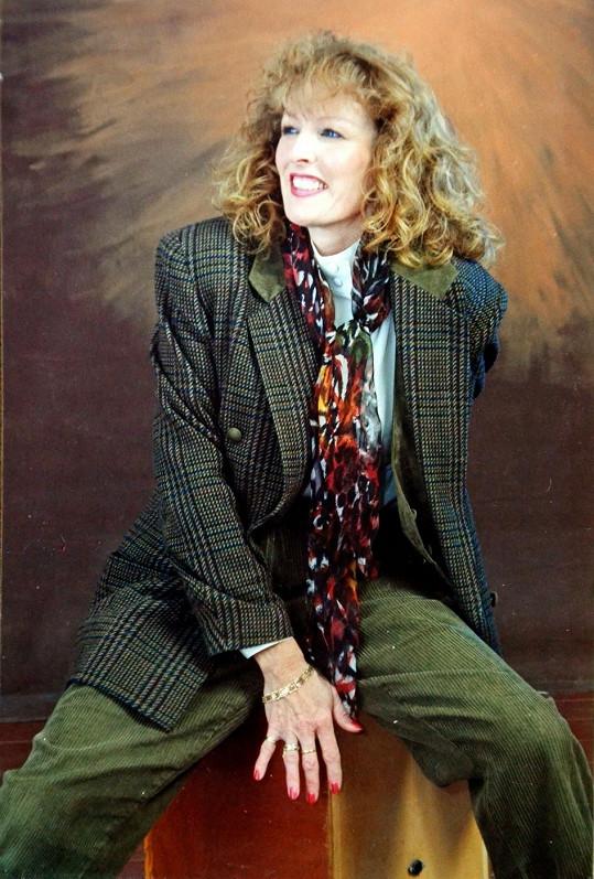 Beverly Roberts na archivním snímku.
