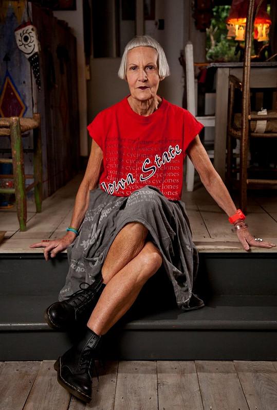 Jean se o módu začala více zajímat až postupem věku.