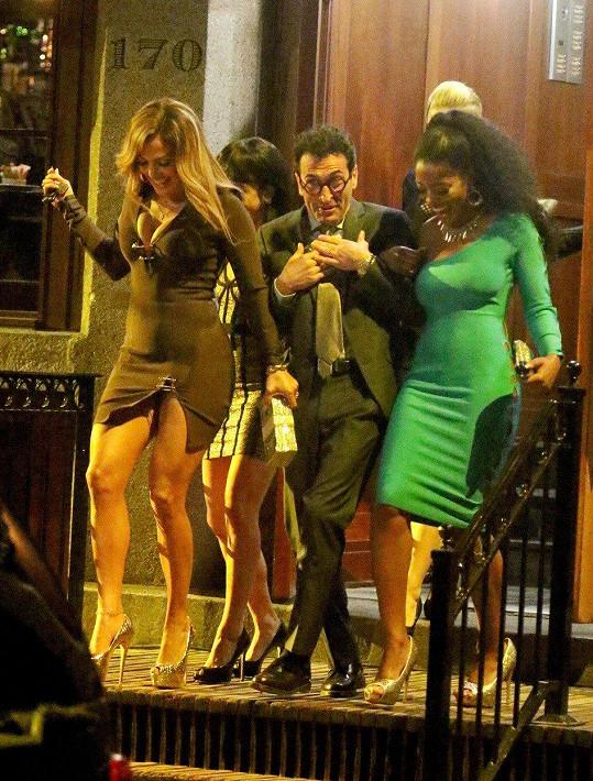 Jennifer Lopez natáčí film Hustlers.