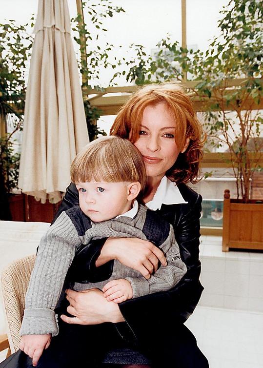 Iveta s Arturem na třináct let staré fotce