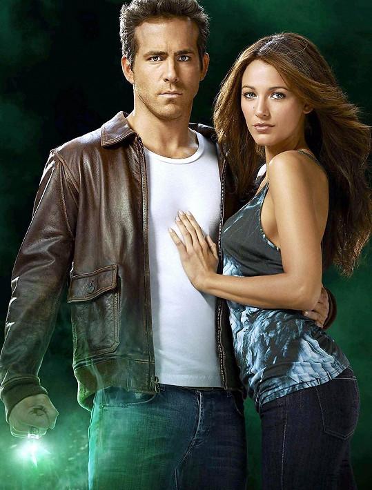 Ryan Reynolds a Blake Lively si spolu zahráli ve filmu Green Lantern.
