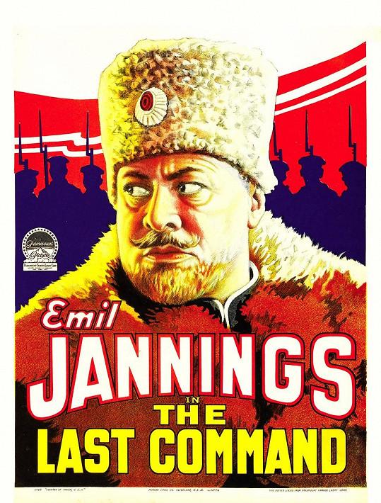 Emil Jannings se také dočkal dvou sošek, za snímek Poslední komando...