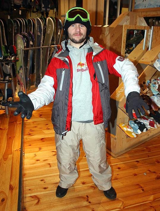 Členem výpravy byl i snowboardista David Horváth, který jediný přežil.