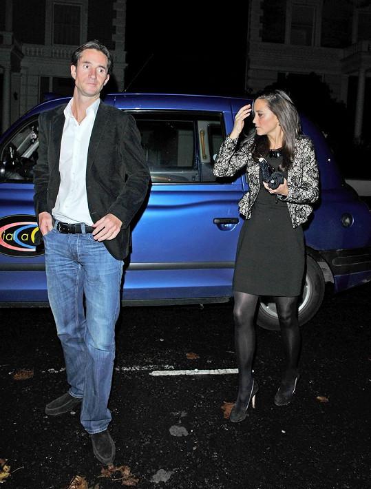 Pippa a James spolu krátce chodili v roce 2012.