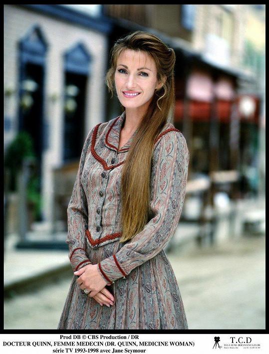 Jane Seymour ve své nejslavnější roli doktorky Quinnové