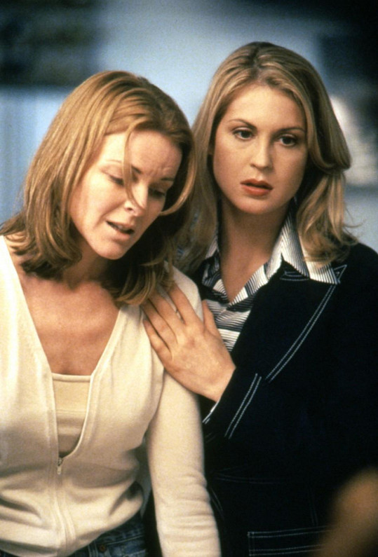 Kelly Rutherford a Marcia Cross v Melrose Place