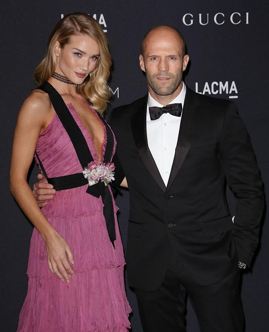 Rosie a její letitý partner Jason Statham