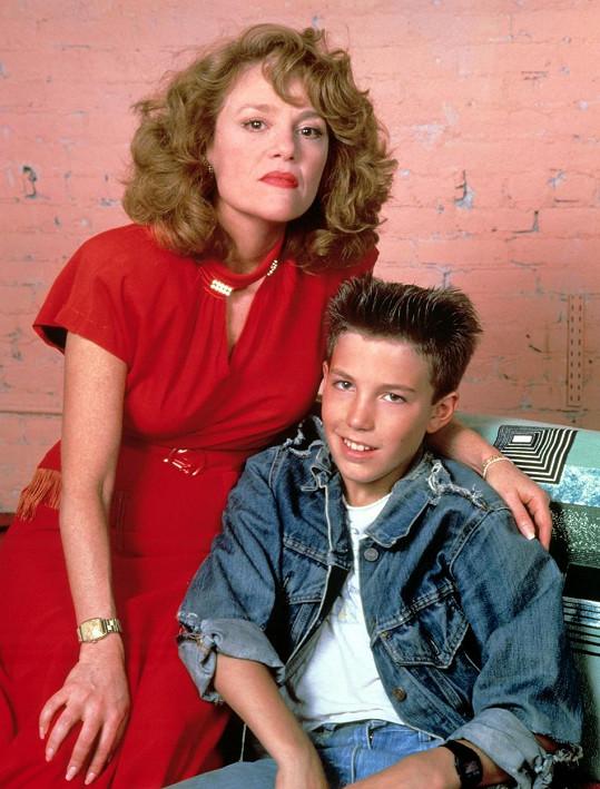 Ben Affleck s Madeline Kahn v televizním filmu Wanted: The Perfect Guy (1986)
