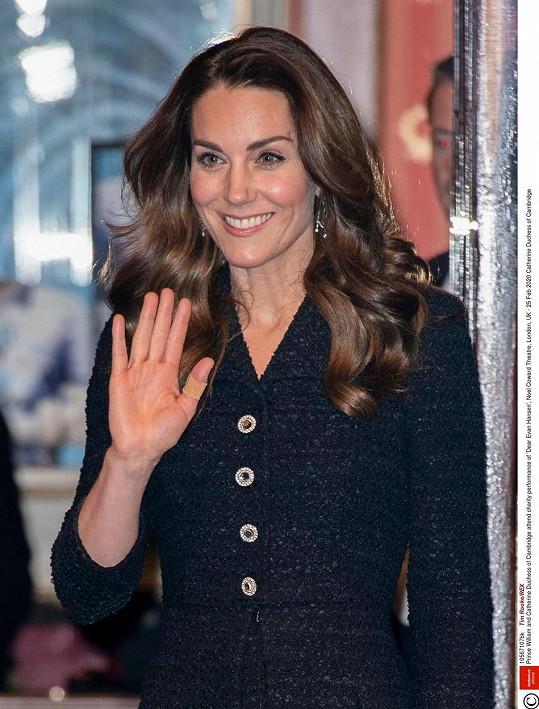 Vévodkyně Kate podpořila muzikál o chlapci, který bojuje s úzkostí.