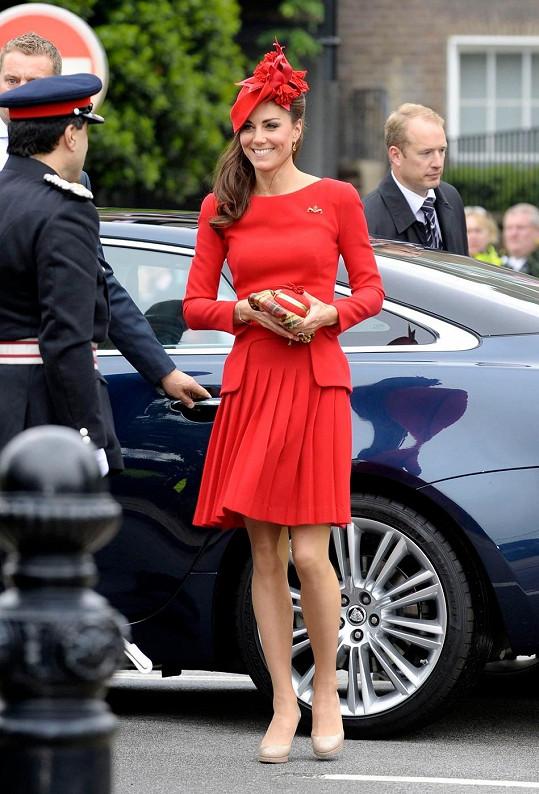 Vévodkyně si potrpí na kloboučky.