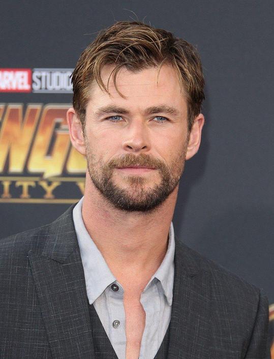 4. Chris Hemsworth - 64,5 miliónu amerických dolarů