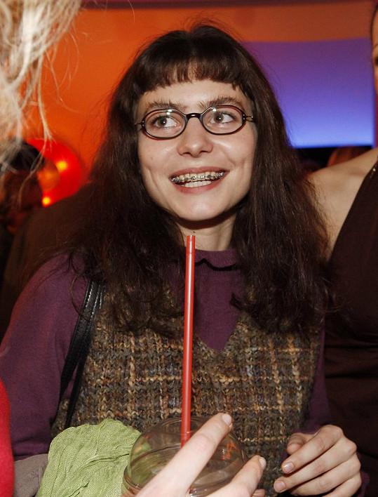 Kateřina Janečková ve své nejznámější roli Ošklivky Katky.